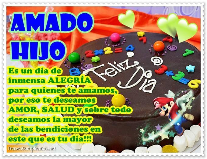 Frases De Cumpleanos Con Pastel De Chocolate Y Mario Bros Sandra