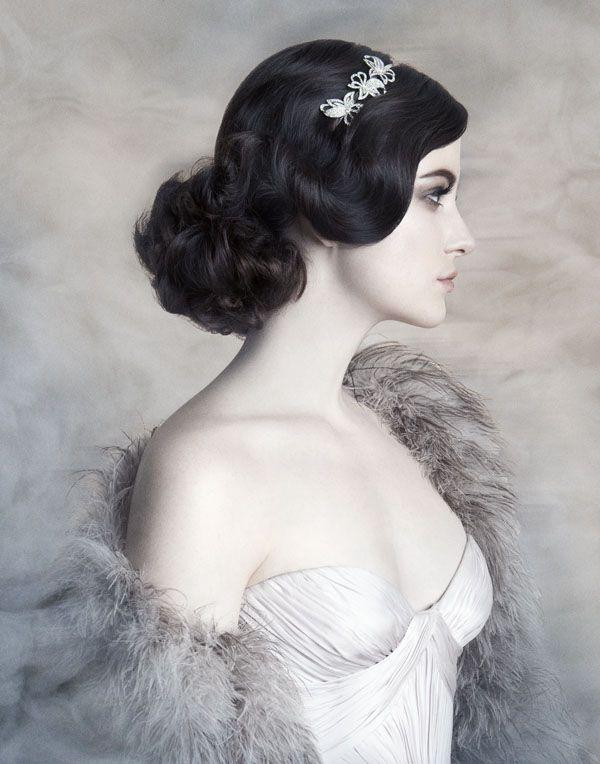 #bridal upstyles #side bun