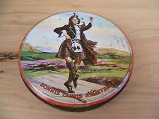 VINTAGE OLD SHORTBREAD, BISCUIT TIN, OLD TIN