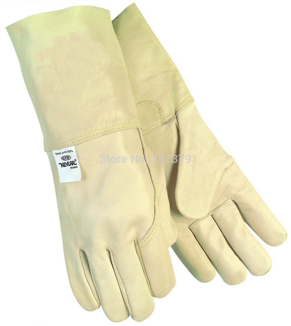 Leather work gloves for welding - 766 00 Watch Now Http Alipol Shopchina Info 1 Leather Work Glovescow Leatherwelding