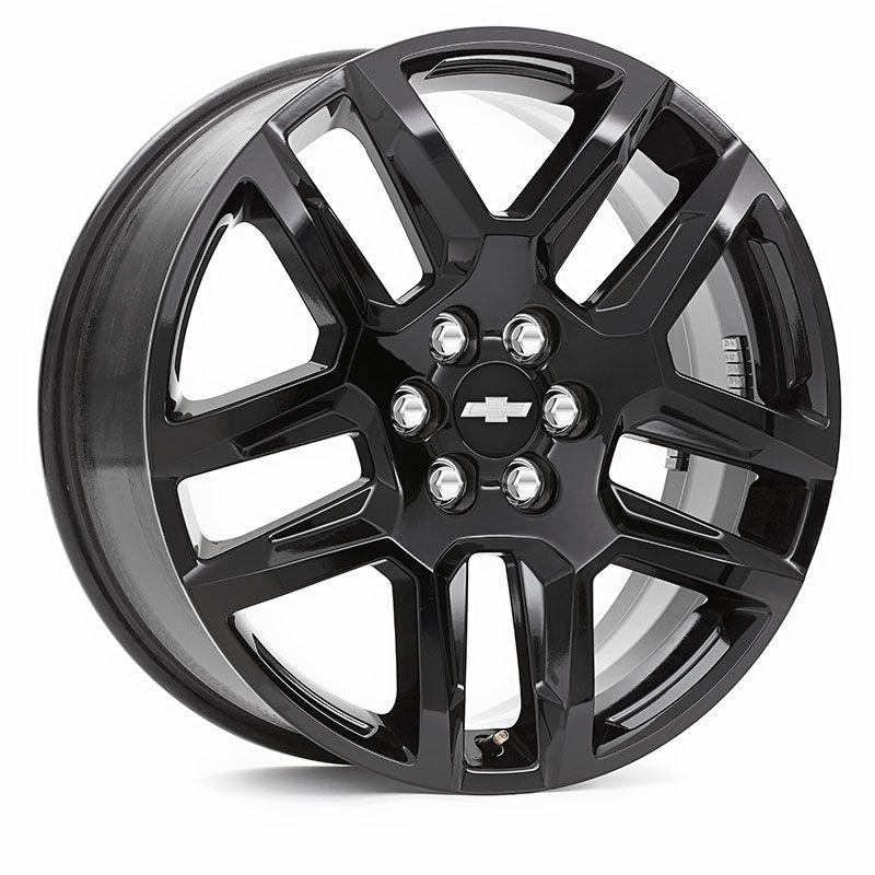 2019 Blazer Wheel 20 Inch Gloss Black 5 Split Spoke 20 Gloss Black Chevrolet Accessories Wheel