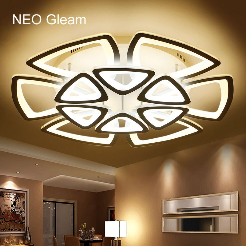 free shipping buy best minimalist modern led ceiling chandelier