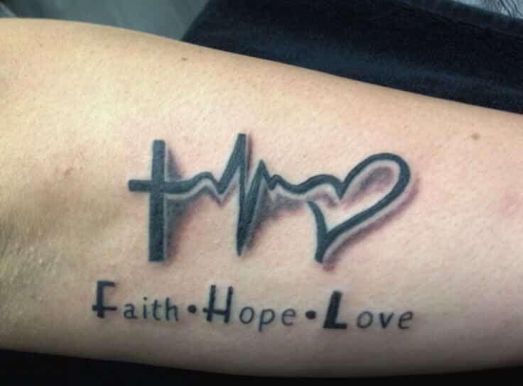 Heartbeat Tattoos For Men Ekg Tattoo Pinterest Tattoos