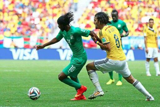 Colombia 2- Costa de Marfil 1