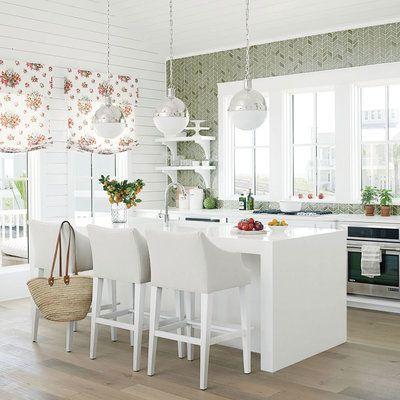 Cinnamon Shore Showhouse Photo Tour Coastal Kitchen Decor Home Kitchens Kitchen Design