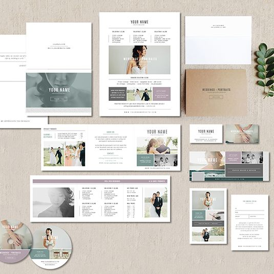 """View Cambria ProPhoto BlogsiteIncludes:- 3.5"""" x 2"""" business card design- 5"""" x 5"""" accordion trifold design- 5"""" x 7"""" folding thank you card design- 8.5"""" x 11"""" pricing guide template- 4"""" x 6"""" gift card template (matching 4"""" x 5.5"""" design for WHCC)- Custom USB design and wooden box template (designed for Miller's Lab)- Facebook timeline templateDetails:- digital PSD spreads (digital files only)- fully customizable- instructions included- compatible with Photoshop CS or later & Photoshop…"""