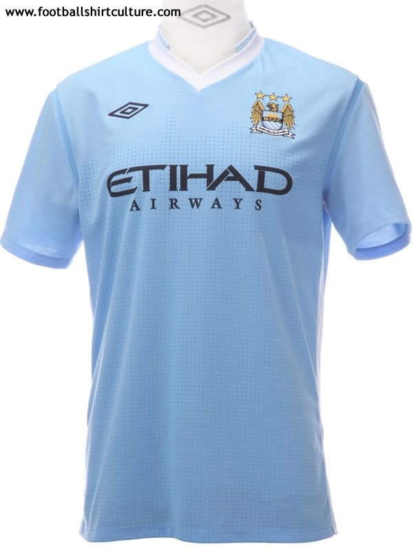 best loved 0d27a 00f6c Manchester City 11/12 Umbro Home Football Shirt | 11/12 Kits ...