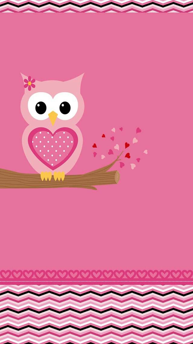 Pin By Cristy Mills On More Wallz Cute Owls Wallpaper Owl Wallpaper Cute Wallpaper For Phone