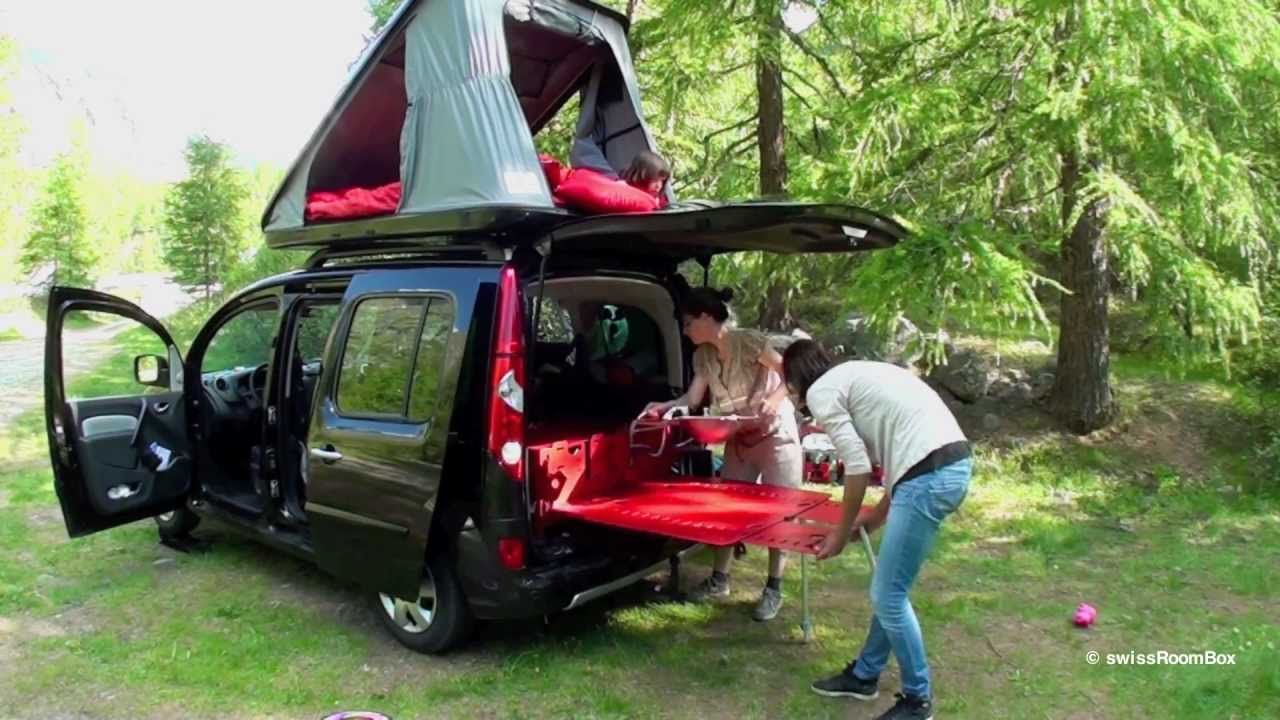Swissroombox The World S Smallest Motor Home Set Up