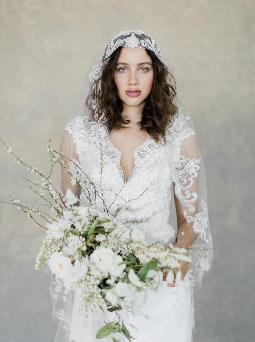 "Bridal Designer Claire Pettibone Releases her ""White Album"