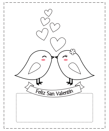 Tarjetas de San Valentín para colorear | Spanish, Cards and Scrap