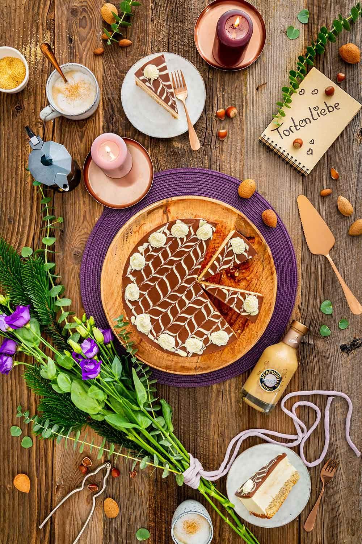 AmarettoApricot Torte Kuchenrezepte mit Eierlikör