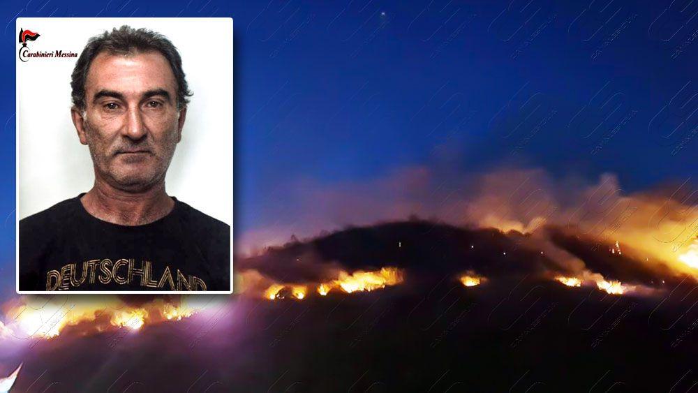 Incendi boschivi - Arrestato piromane a Patti - http://www.canalesicilia.it/incendi-boschivi-arrestato-piromane-patti/ Arresto, Carabinieri, Incendi Boschivi, Patti, Piromane