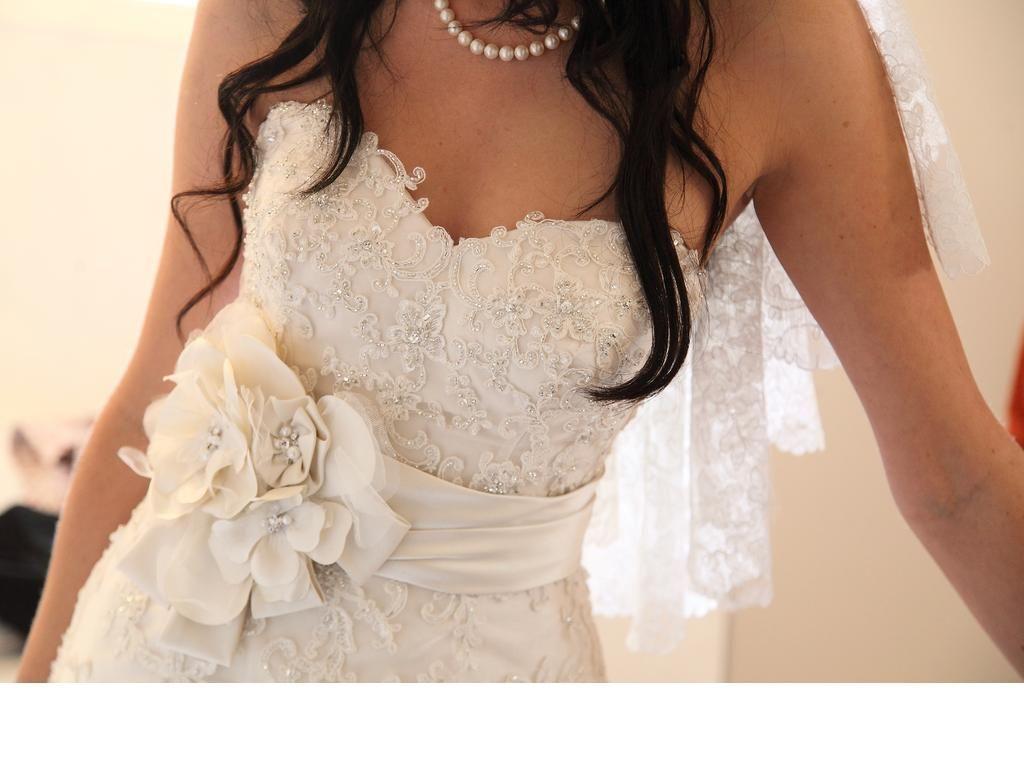 Maggie sottero suzette dress lace details dream wedding
