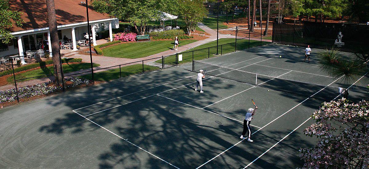 Tennis Pinehurst resort, Tennis, Tennis center