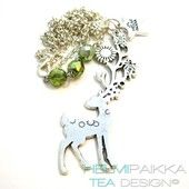 Bambi satumetsässä - Helmipaikka Oy - Joka päivä on korupäivä - Helmipaikka.fi koruja netistä - Tea Design necklaces
