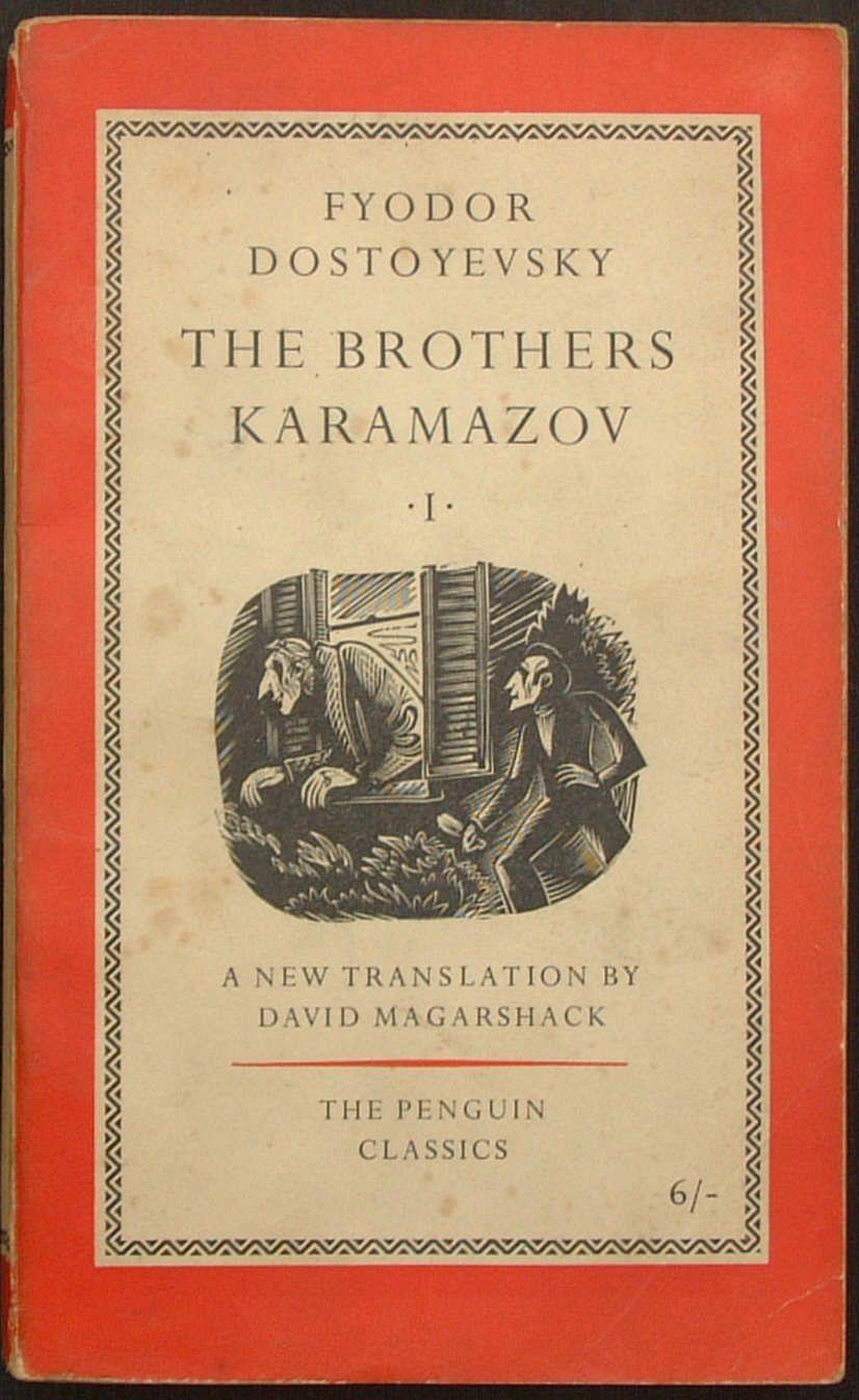 Series No L78 Title The Brothers Karamazov Volume I Author