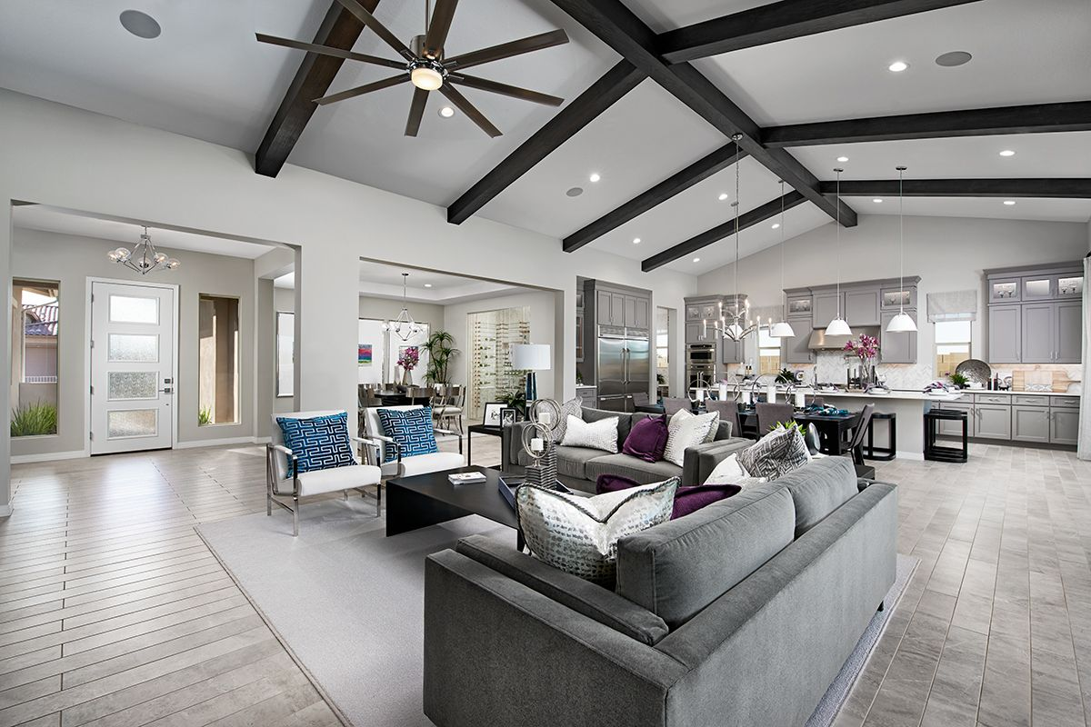 Stunning Beamed Ceiling Rocco Model