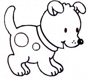 dibujos para colorear de perros ms