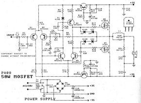 50W Power Amplifier