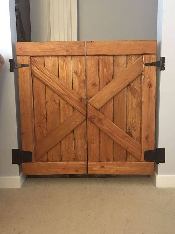 Sliding Barn Door Baby Gate