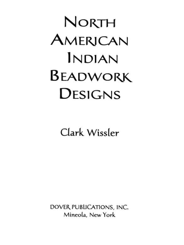 North American Indian Beadwork Designs Indian Beadwork Beadwork