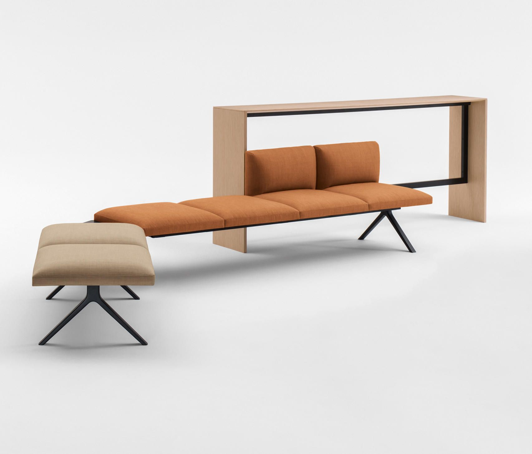 KIIK Designer Benches from Arper all information high