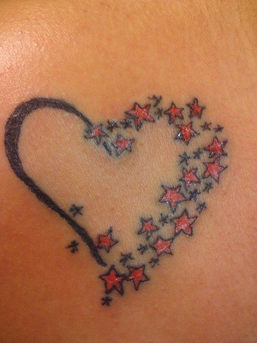 Heart With Stars Tattoo Picture At Checkoutmyink Com Star Tattoos Star Tattoo Designs Heart Tattoo