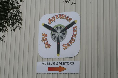 American Aero Services is located at the NSB airport and restores vintage aircraft.