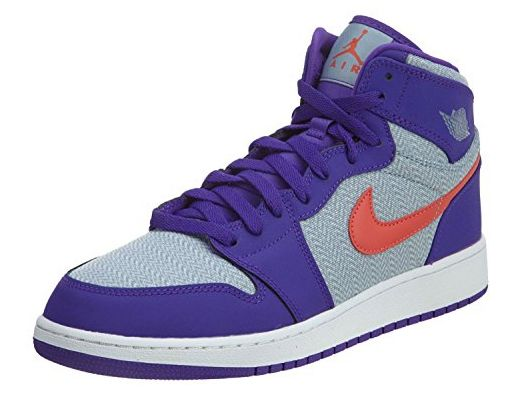 Nike Damen Air Jordan 1 Retro High GG Basketballschuhe, Azul ...