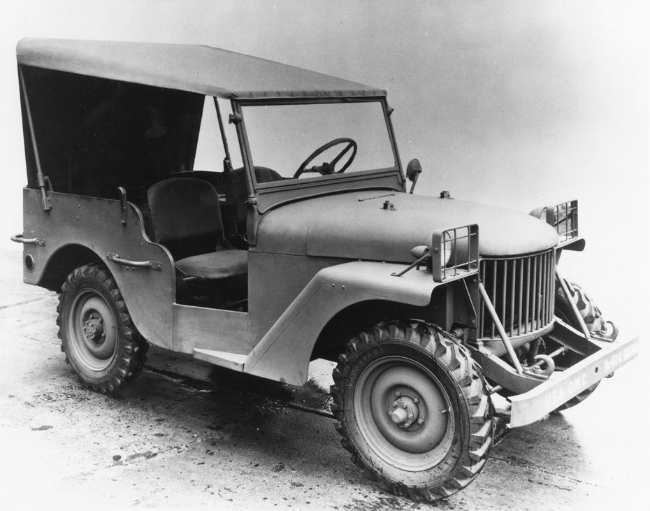 Willys Overland Delivered The Prototype Quad Named For The 4x4 System It Featured To The U S Army On Armistice Day Ve Willys Jeep Classic Jeeps Old Jeep