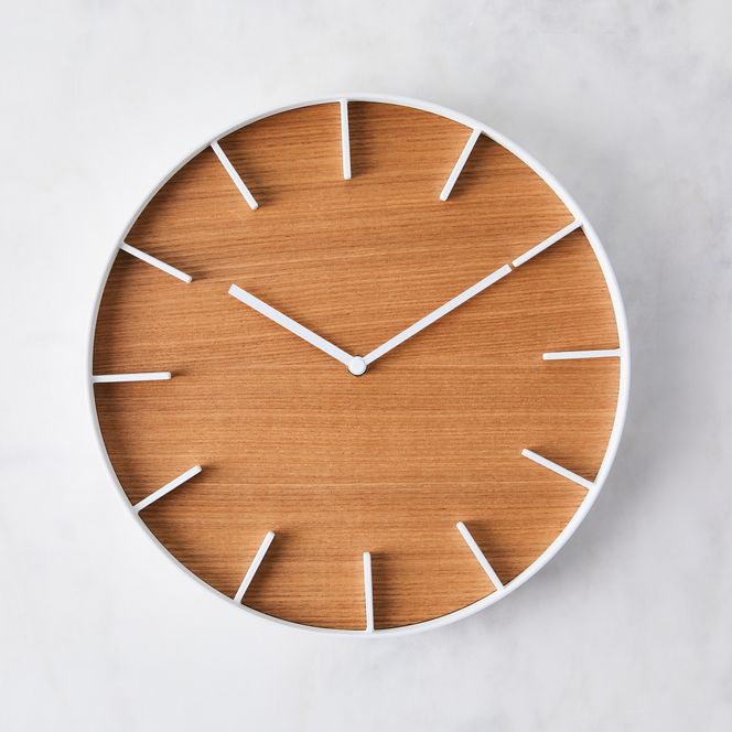 Modern Wood Wall Clock In 2020 Wood Wall Clock Modern Wood Wall Clock