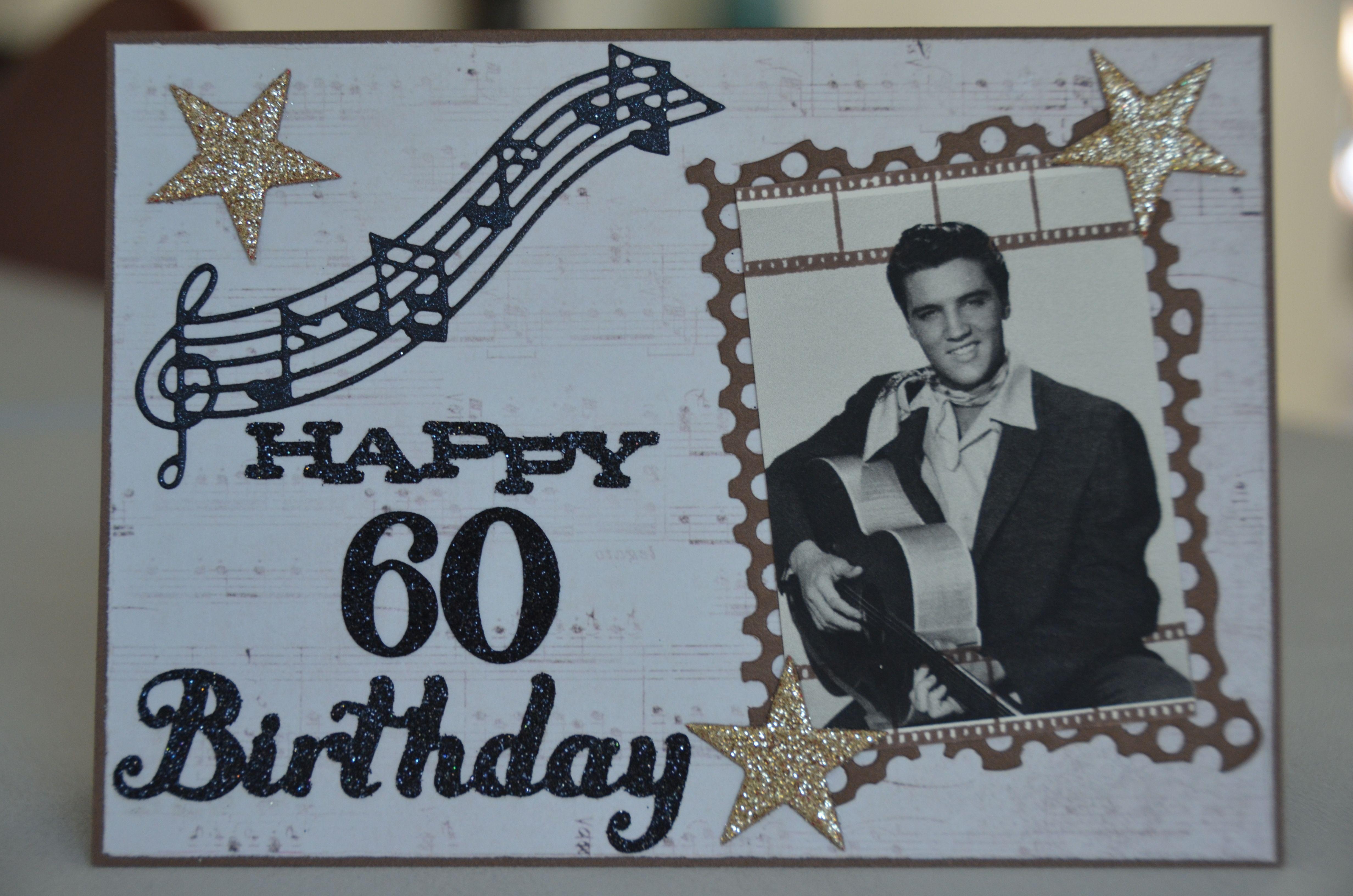 Elvis Presley Happy 60th Birthday Card