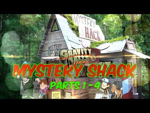 DIY - Gravity Falls Mystery Shack - COMPLETE SERIES - EXTREME CRAFT - Parts 1-4 - YouTube