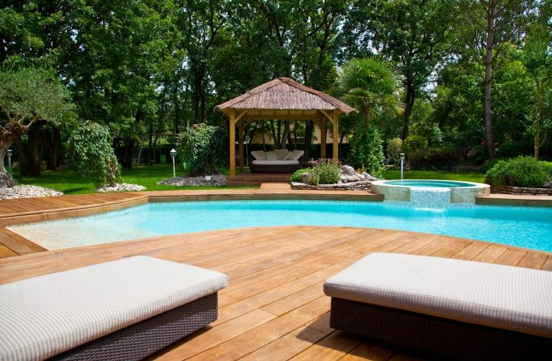 Kebony Radiata, Swimming Pool France (Romans Sur Isere) Pools - idee de terrasse en bois