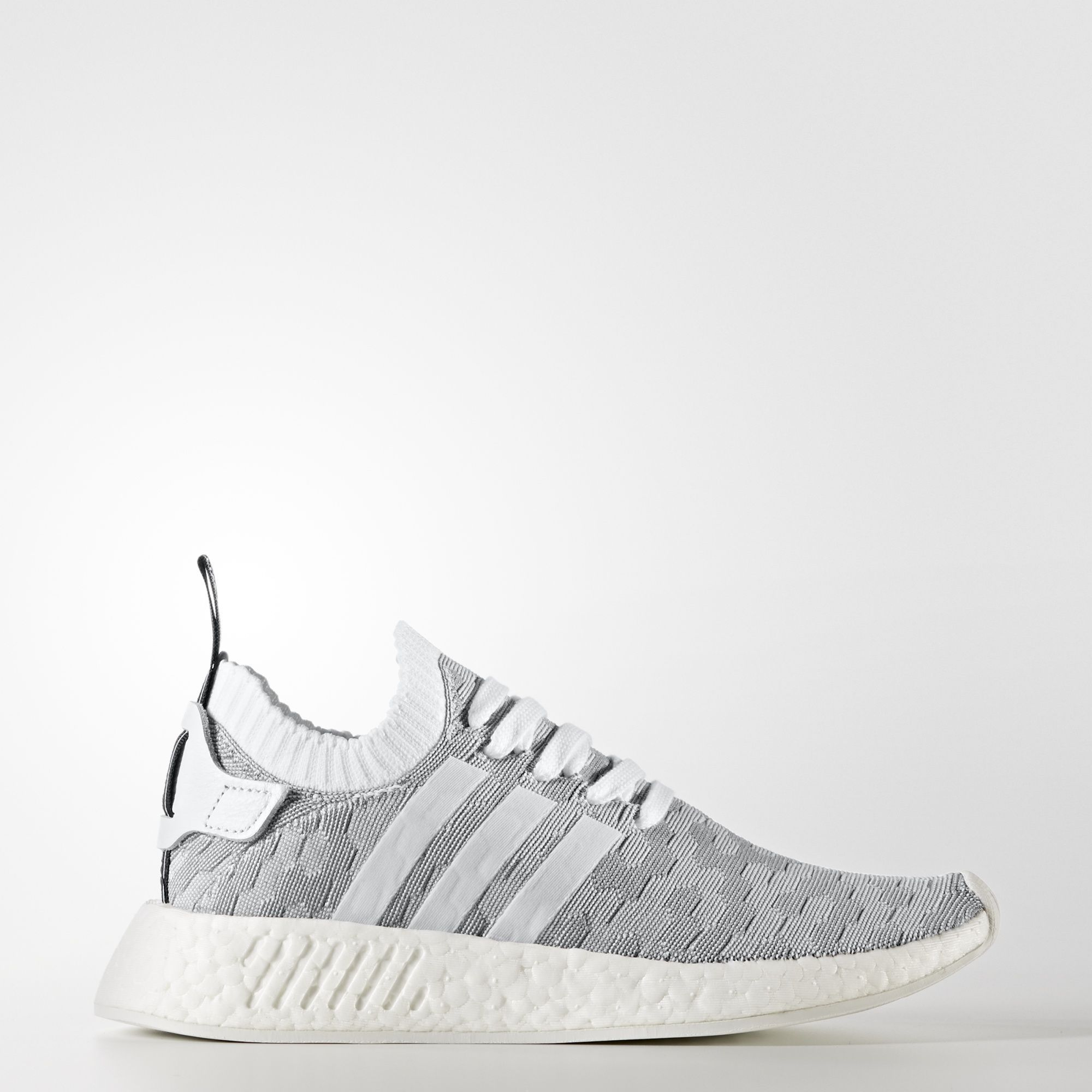 adidas NMD_R2 Primeknit Shoes - White | adidas US