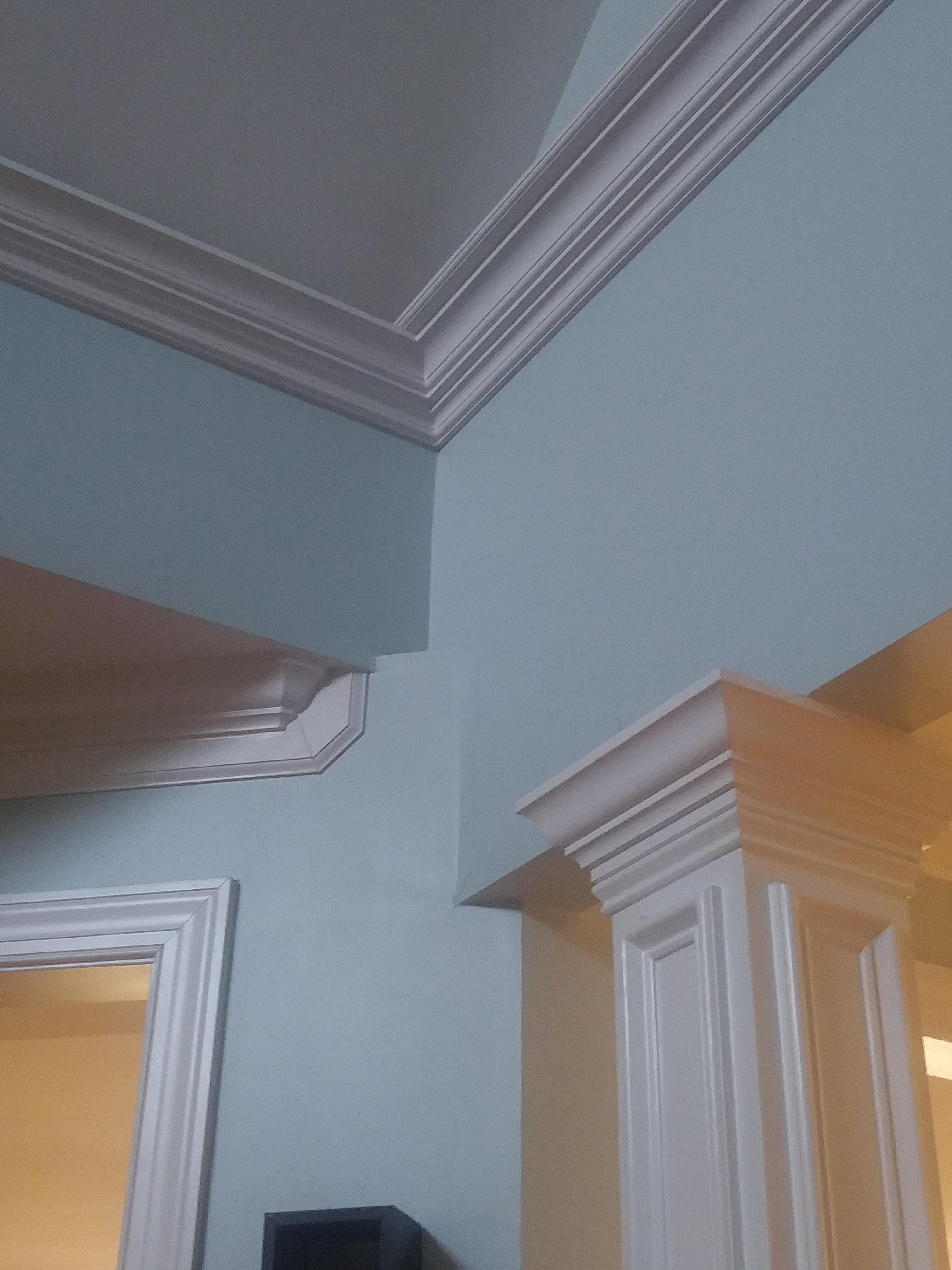 This Corner Of The Ceiling In My Grandparents House