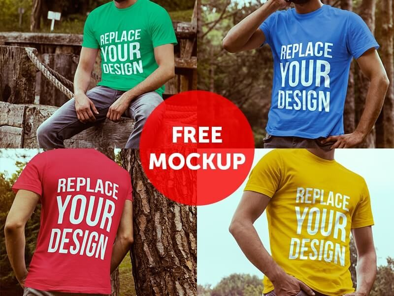Download 20 Free T Shirt Mockups For Designers Mockup Free Psd Tshirt Mockup Shirt Mockup