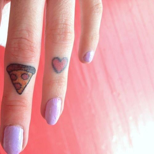 People LOVE Pizza 40 Cheesy Pizza Tattoos
