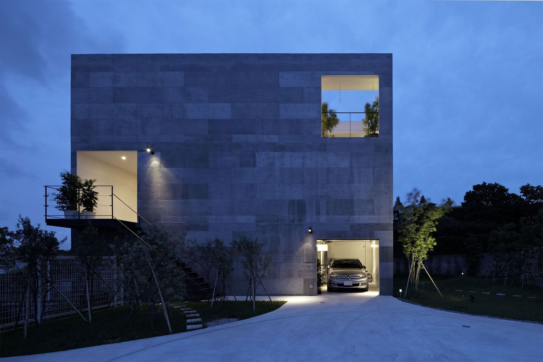 Basement Lighting Design Exterior ndano.555 architectural design office team ndano.555