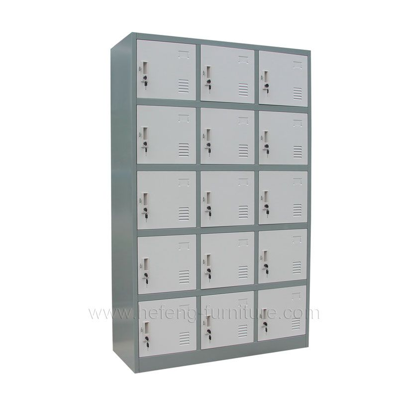 15 Door Metal Clothing Lockers Luoyang Hefeng Furniture Locker Storage Lockers Steel Locker