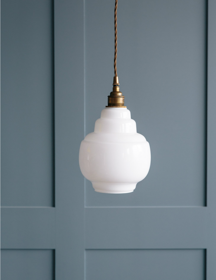 Opal Glass Pendant Light - Small | Pinterest