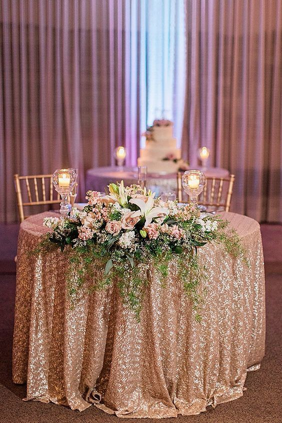 Wedding Reception Inspiration Bride Groom Table Head Table
