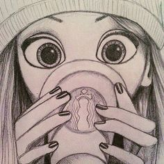 Rapunzel  - - My favorite Disney princess!  - - Cute drawing (idk the creds) - { #rapunzel ...