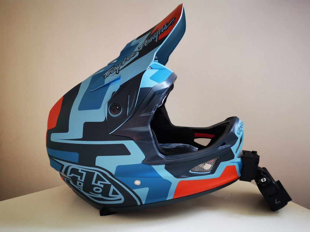 GoPro Style Top Mount for Troy Lee Designs A1 Helmets