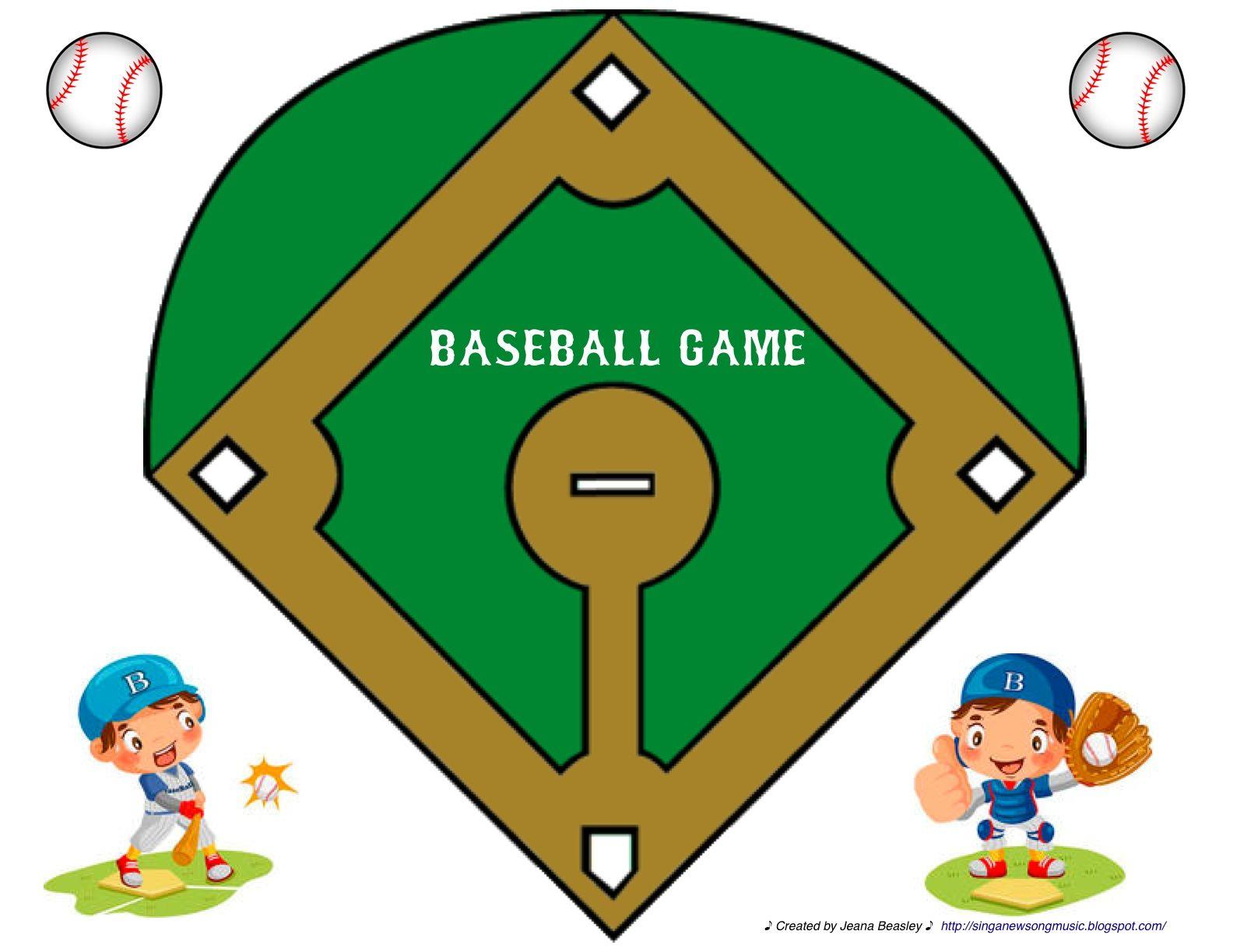 Baseball Diamond Template