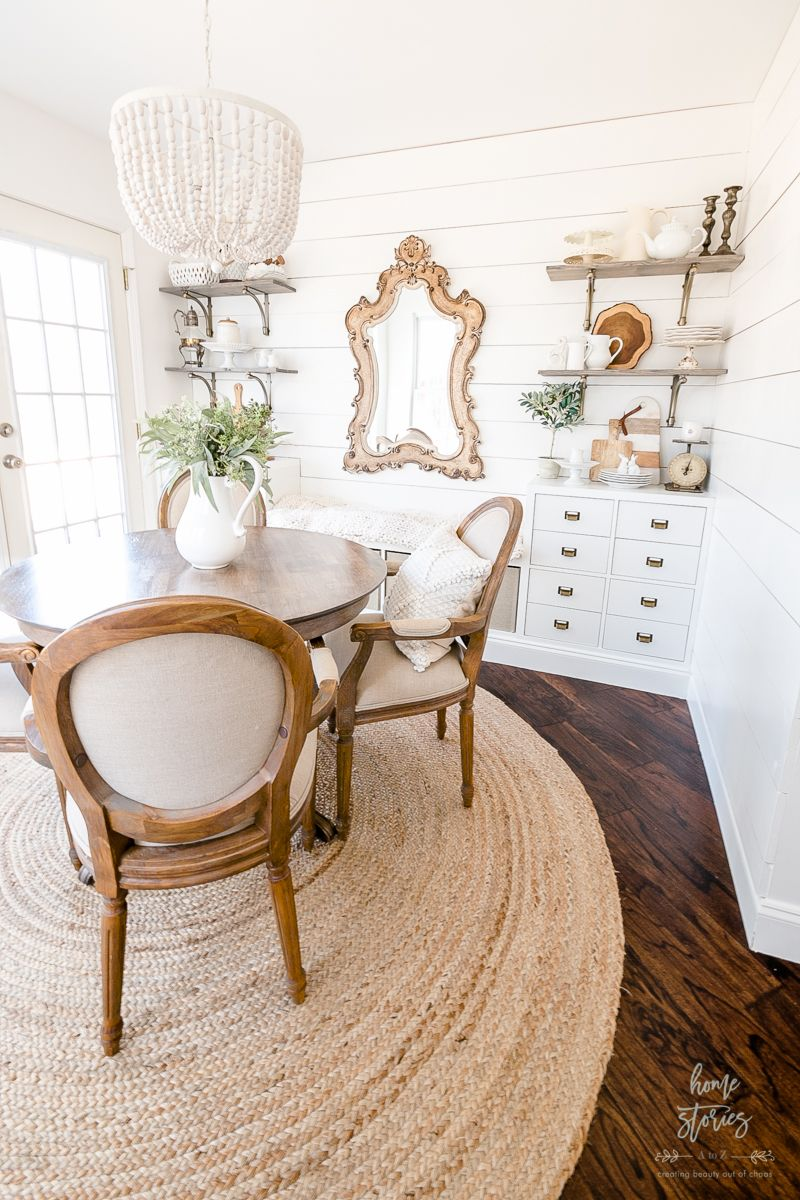 Breakfast Room Makeover: Cube Storage Hack - Home Stories A to Z