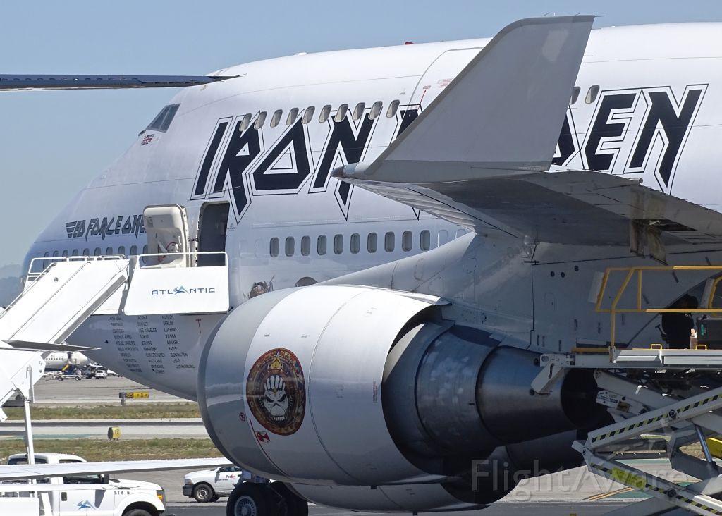 Foto von boeing 747400 tfaak flightaware klax