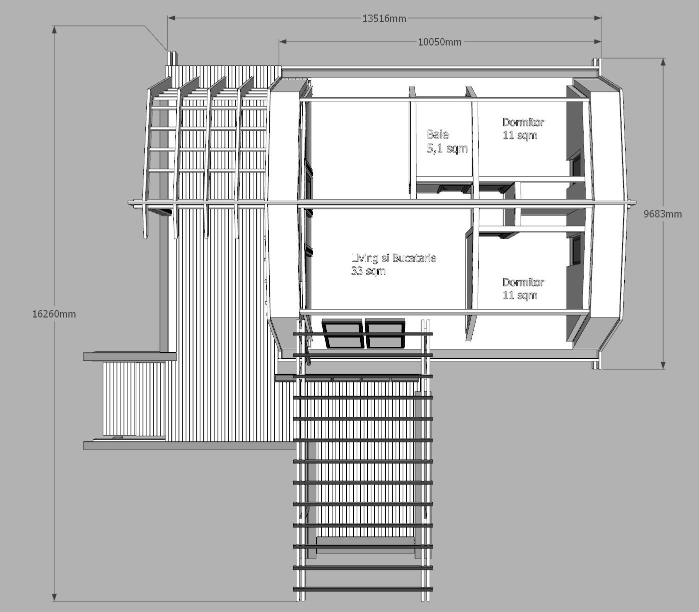 Soleta one plus exterior photos gallery casas for Maison container 50000