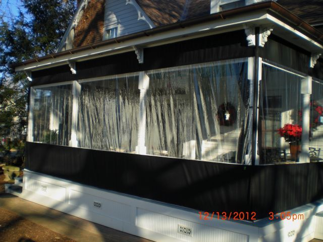 Incroyable Outdoor Plastic Panels For Rain U0026 Snow On Porch | Options U0026 Cost